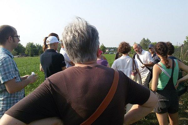 Caresà a campo aperto: le visite nei campi