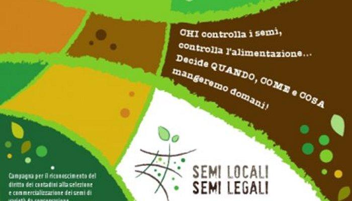 Campagna 'Semi Locali, Semi Legali'