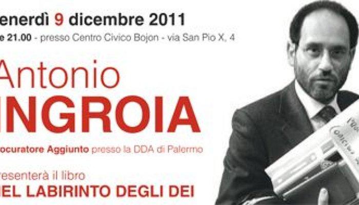 Antonio Ingroia a Campolongo Maggiore