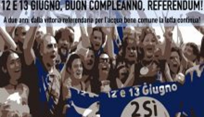 12-13 Giugno Buon Compleanno Referendum