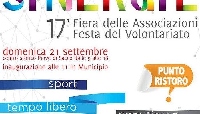 """""""Sinergie"""": 17a Fiera delle Associazioni – Festa del Volontariato"""