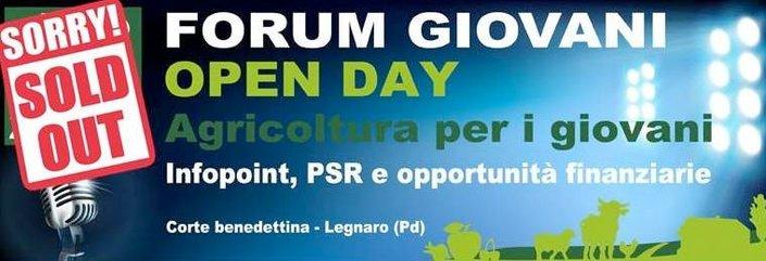 Open Day Agricoltura per i giovani