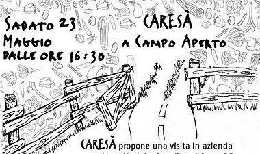 """Sesta edizione primaverile di """"Caresà a campo aperto""""."""