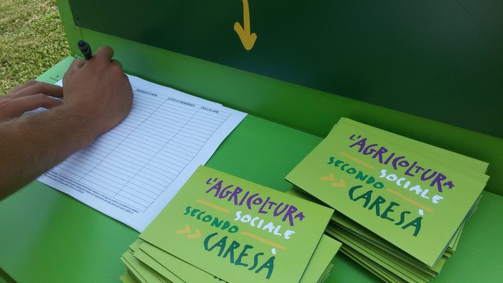 Caresà a campo aperto: presentato il manifesto Caresà sull'agricoltura sociale; annunciato l'avvio dell'iter di iscrizione all'elenco regionale delle fattorie sociali
