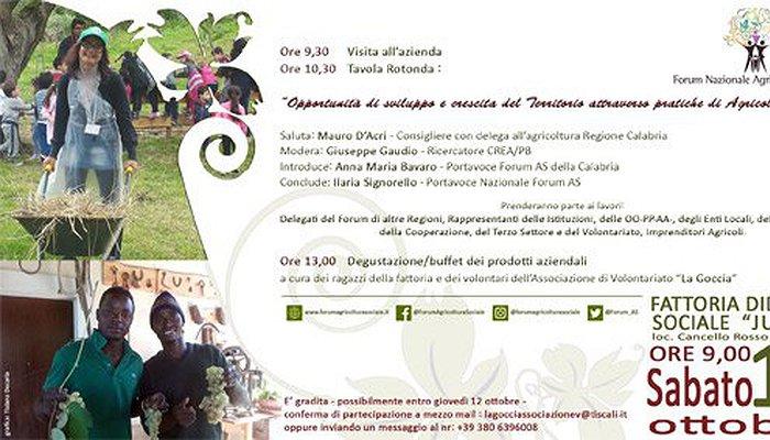 In Calabria il forum nazionale dell´agricoltura sociale
