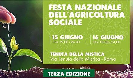 A Roma la Festa nazionale dell'agricoltura sociale