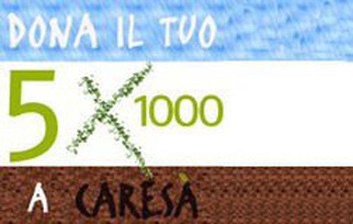 Dona il tuo 5x1000 a Caresà