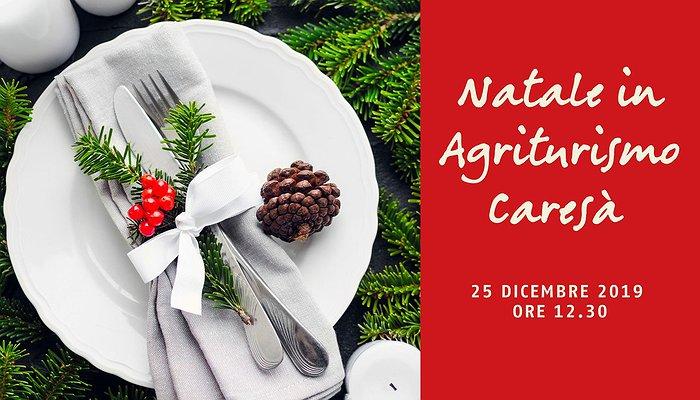 Pranzo di Natale in Agriturismo Caresà