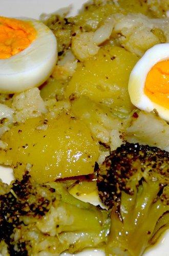 Spadellata rustica di cavolfiore, broccoli e patate
