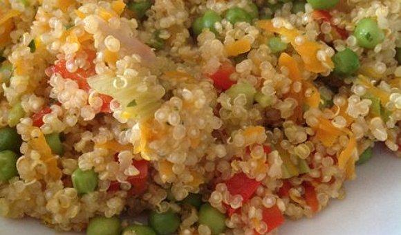 Quinoa alle verdure