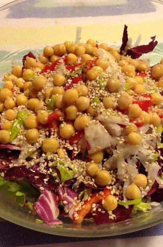 Fantasie di insalate e radicchio