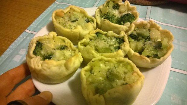 Tortini di broccolo calabrese