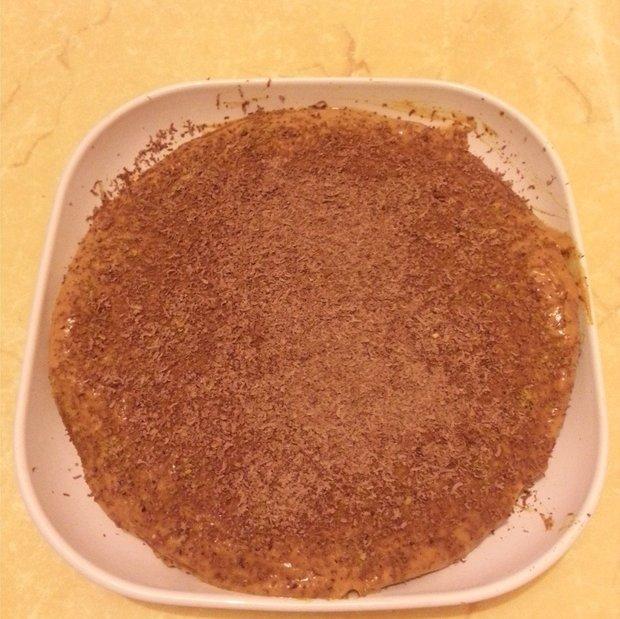 Torta con crema alla zucca