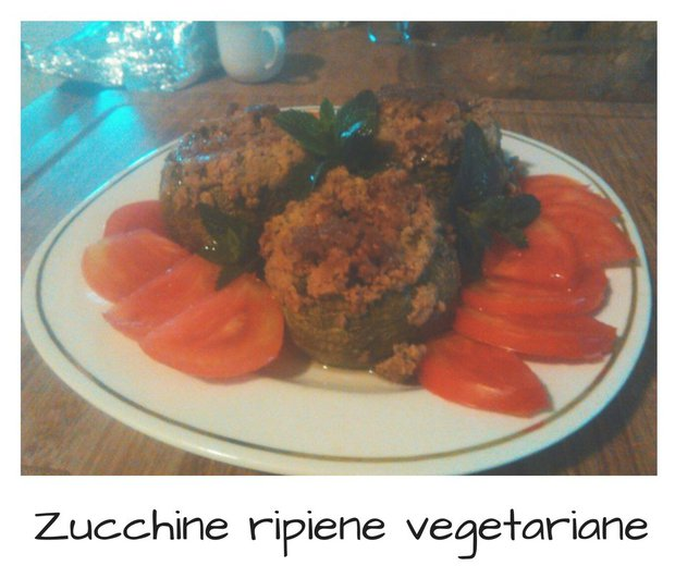 Zucchine vegetariane