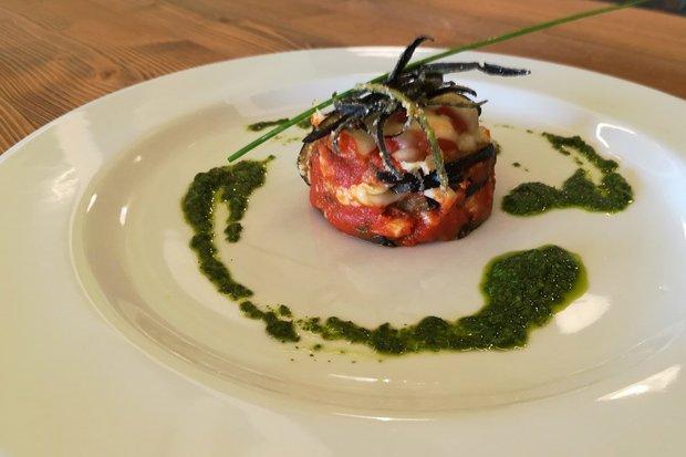 Parmigiana vegetariana di melanzane